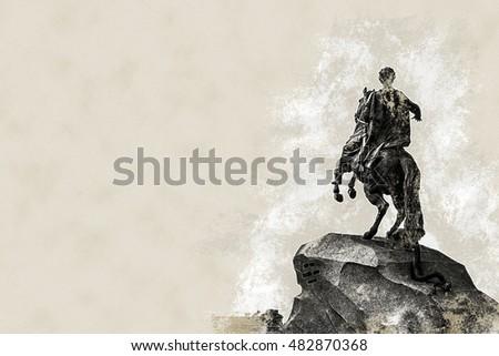 the bronze horseman  ...