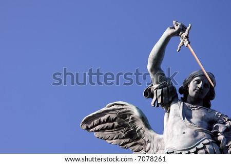 Archangel Michael Statues The Bronze Statue of Archangel