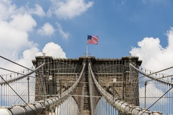 The Brooklyn Bridge is a bridge in New York City and is one of the oldest suspension bridges in the United States.