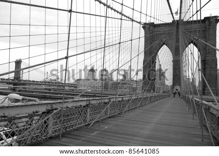 The Brooklyn Bridge Is One Of The Oldest Suspension