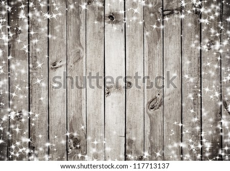 christmas country wood: