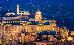 The Buda Castle, Budapest