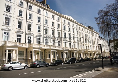 The building on Saint George's Square, London