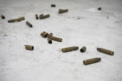 The bullet casings