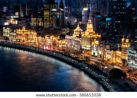 The bund, Shanghai #380651038