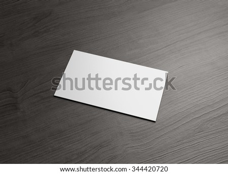 The business card to use for any presentation of corporate