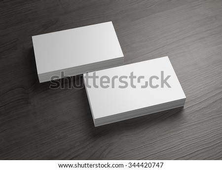 The business card to use for any presentation of corporate #344420747