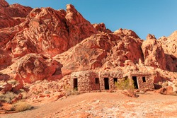 The Cabins at Valley of Fire State Park Nevada