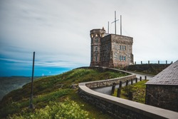 The cabot tower castle on signal hill, St. John's. Newfoundland
