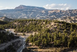 The Canaan Peak in Grand Staircase Escalante National Monument, Utah