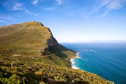 The Cape of Good Hope, adjacent to Cape Point, South Africa.