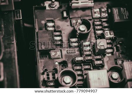 The car engine #779094907