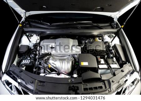 The car engine, Engine, Car engine background #1294031476