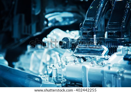 The car engine, Engine , Car engine background