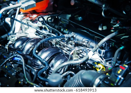 The car engine, Engine, Car engine background #618493913