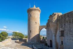 The castell de Bellver in Palma de Mallorca