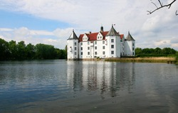 The Castle Glücksburg near Schleswig, Schleswig-Holstein, Germany, Europe