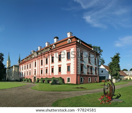The Castle in Kunin ranks among the most valuable Baroque castles within whole North Moravia and Silesia, Czech republic