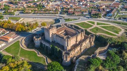 The Castle of Coca, in Castilla y Leon, Spain, one of the best gotic-mudéjar construction styles in the world.