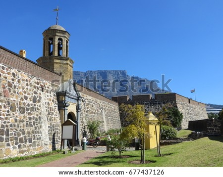 the castle of good hope in cape ...