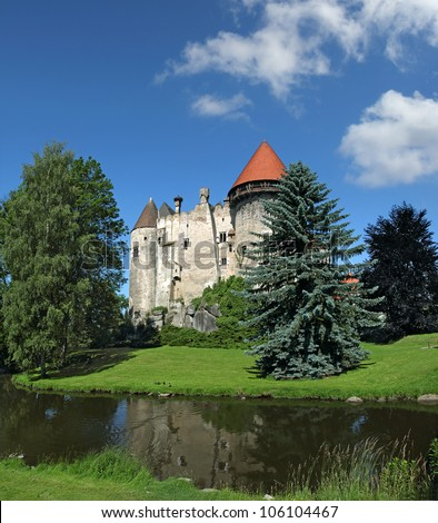 The castle of Heidenreichstein, Waldviertel, Lower Austria