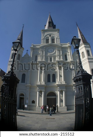 The Cathedral, Jackson Square, New Orleans