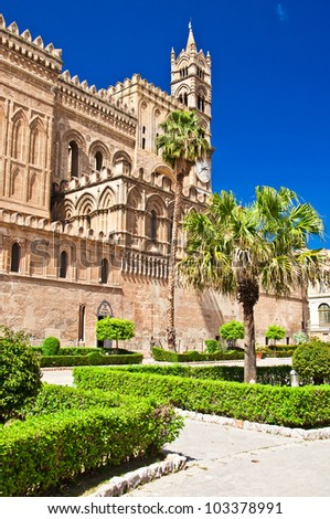 The Cathedral of Palermo is an architectural complex in Palermo (Sicily, Italy). The church was erected in 1185 by Walter Ophamil, the Anglo-Norman archbishop of Palermo and King William II's minister