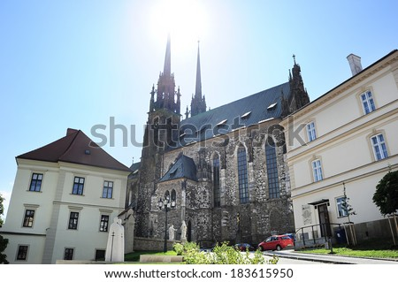 The Cathedral of St. Peter and Paul Brno (Petrov) , Czech Republic