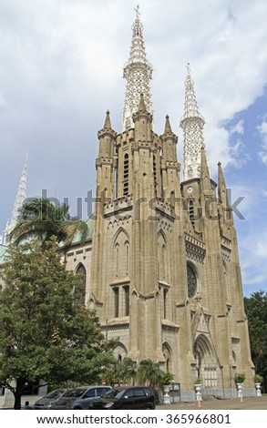 the catholic cathedral of...