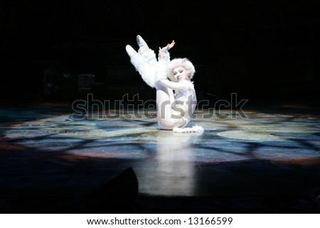 The Cats - a scene from the legendary musical first staged in Moscow in 2005.