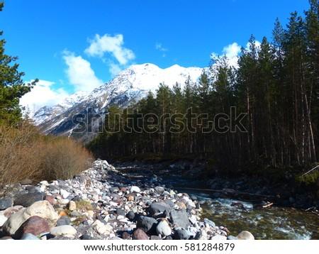 The Caucasus Mountains #581284879