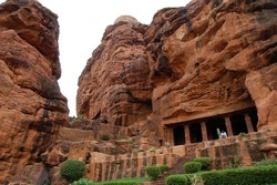 The cave temple of Badami
