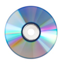 The CD-ROM for PC on a white background