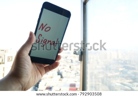the cellphone no signal #792903508