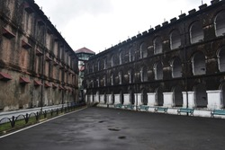 The Cellular Jail was a colonial prison in the Andaman and Nicobar Islands, India. Prison for political prisoners (Indian independence activists)