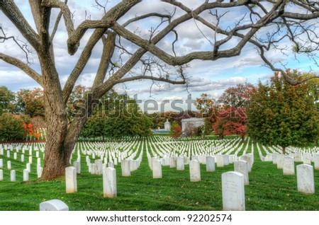 the Cemetery near Washington DC