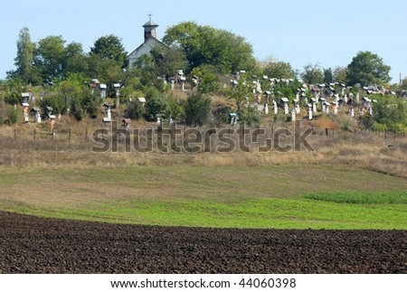 The cemetery on the hill