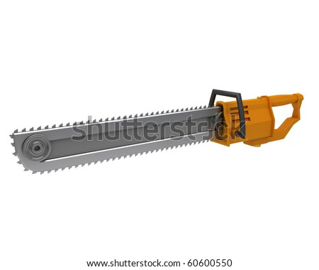 the chainsaw, sci-fi concept