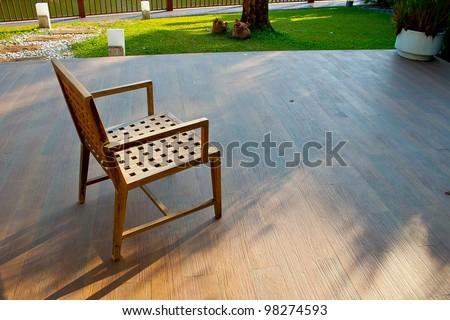 The Chair inside the Garden