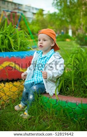 The child - stock photo