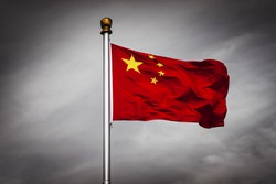 The Chinese national flag, the Five Starred Red Flag