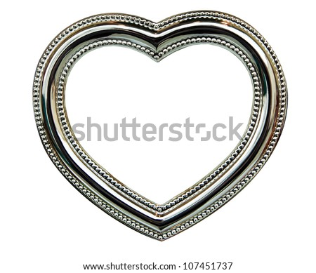 The Chrome Heart Frame isolated on white background