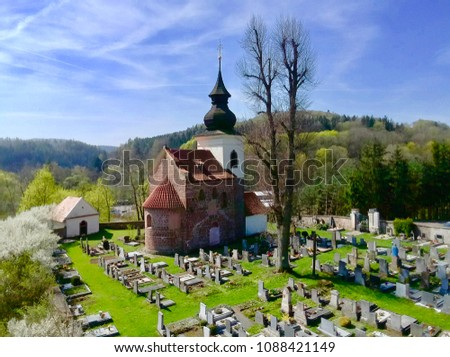 Stock Photo The church in Rovna from Kingdom Come: Deliverence