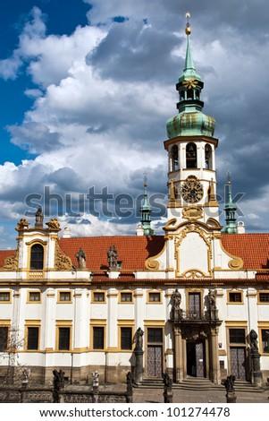 The church Loreta in Prague, Czech Republic