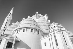 The Church of Saint Joan of Arc, a Roman Catholic parish church located in Nice, Cote d'Azur, France