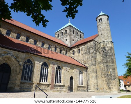 The Church of St. Michael (German: Michaeliskirche) is an early-Romanesque church in Hildesheim, Germany. It has been on the UNESCO World Cultural Heritage list since 1985.