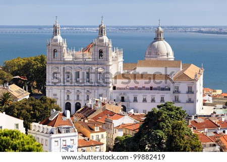 the Church of St. Vicent in Lisbon