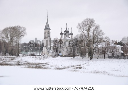 The Church of the Candelmas. Russia, northwestern Federal district, Vologda oblast, district of the city of Vologda, Vologda, nab 6 Armii, 85 Zdjęcia stock ©