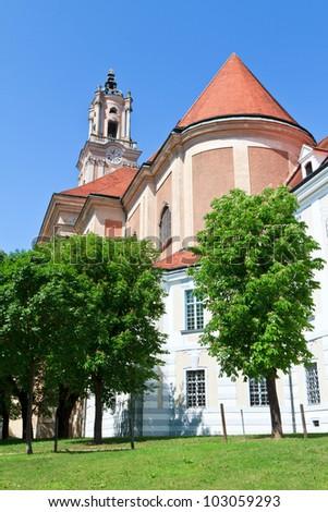 The church of the monastery Herzogenburg in Austria