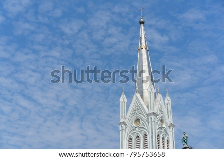 The Church of the Virgin Mary of Asanawihan Maephrabangkerd Thailand #795753658